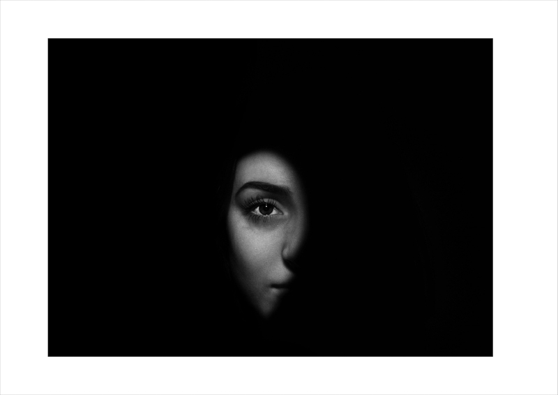 Emily Parsons - Face in the shadows